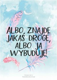 Plakat Piórka Albo znajde droge